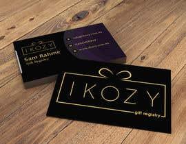 """Nro 128 kilpailuun Business Card for a """"online gift registry"""" käyttäjältä sakil300"""