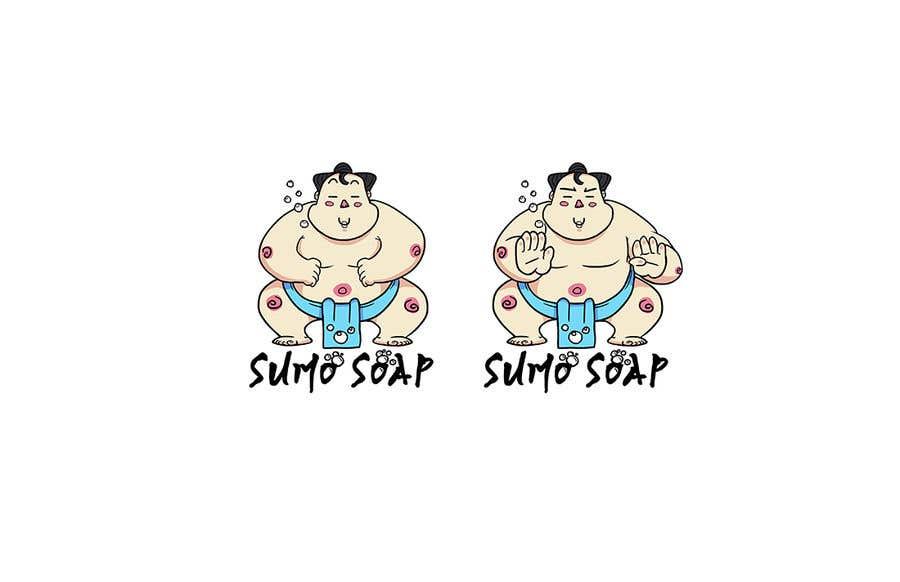 Penyertaan Peraduan #141 untuk Sumo Cartoon Character