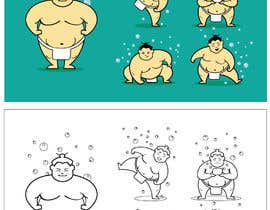 #76 for Sumo Cartoon Character by kaushalyasenavi