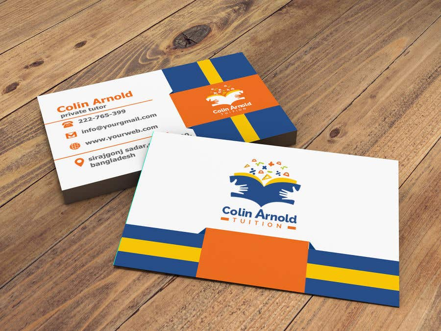 Kilpailutyö #379 kilpailussa Design a business card