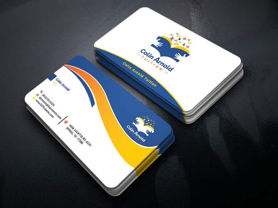 Kilpailutyö #144 kilpailussa Design a business card