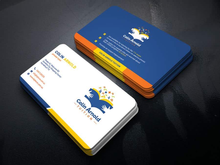 Kilpailutyö #282 kilpailussa Design a business card