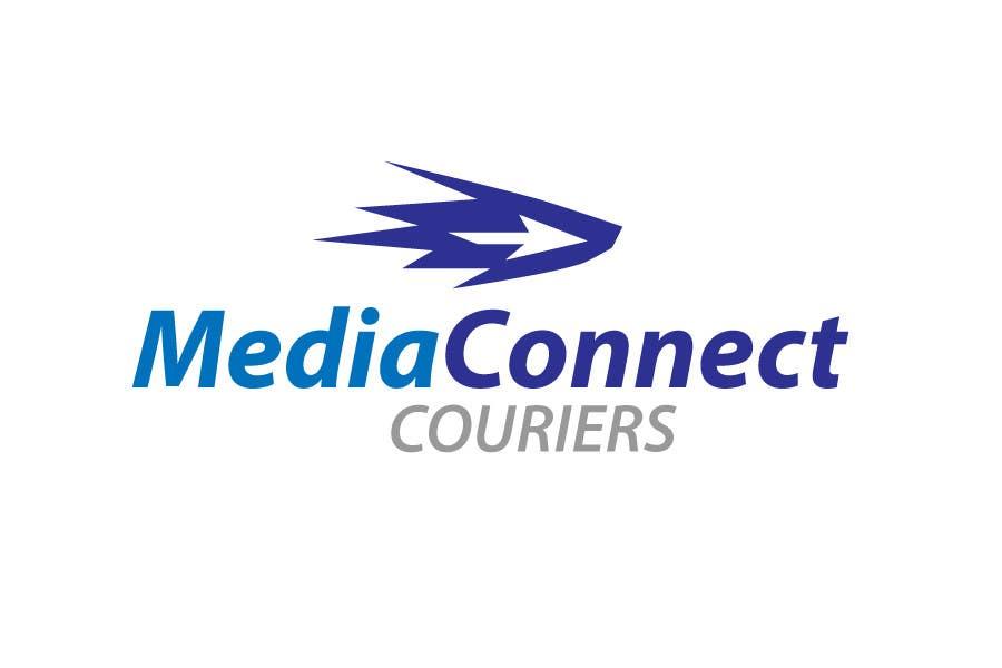 Wettbewerbs Eintrag #77 für Logo Design for Media Connect Couriers