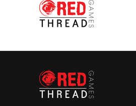 nº 23 pour Logo Design for RED THREAD GAMES par Kindland