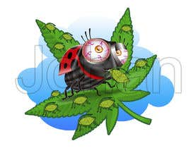 #18 pentru Draw nine vector files 1) stoned Grasshoppers that have eaten a crop of marijuana, 2) stoned deer that have eaten a crop of marijuana, 3) stoned Koala's .. 4) stoned kangaroo's ...., 5) aphids destroy crop,  6) ladybug kills aphids de către JohanGart22
