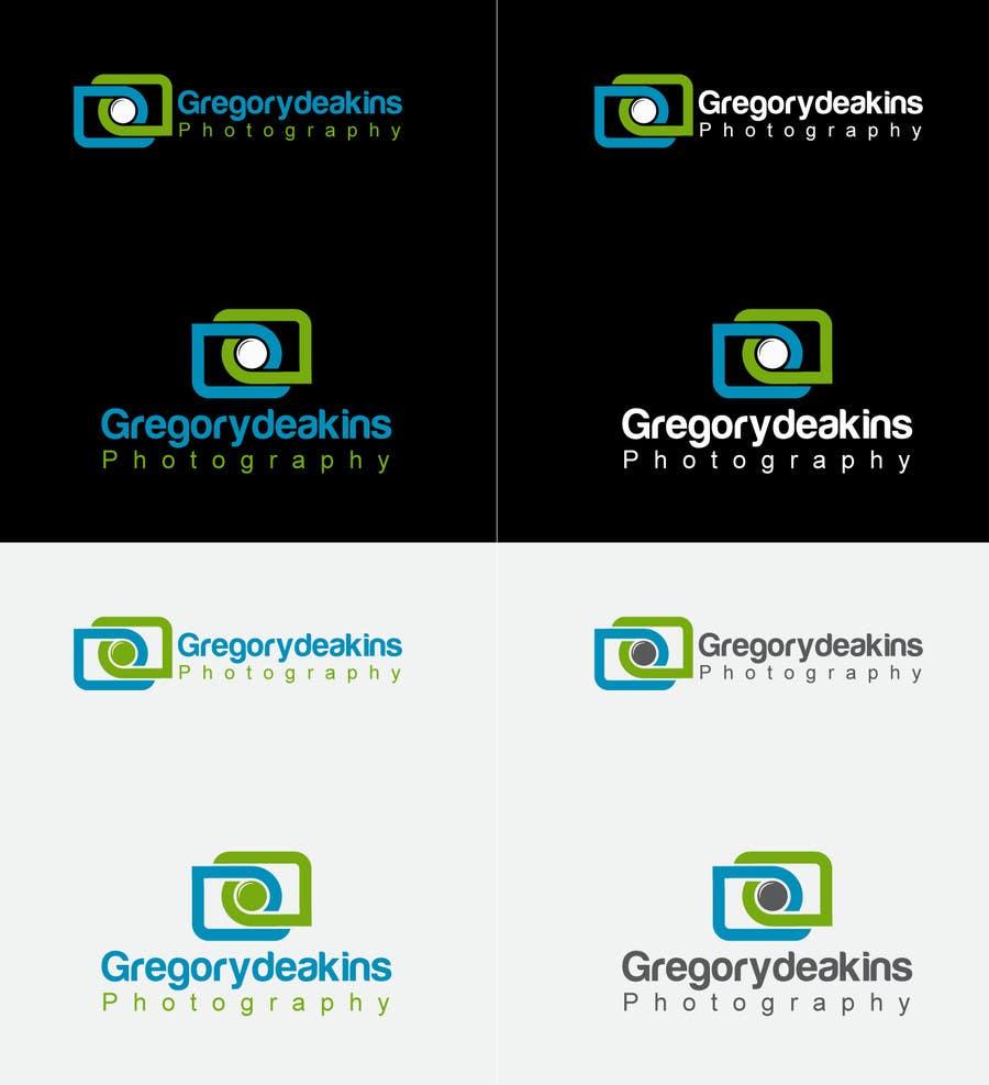 Contest Entry #14 for Logo Design for Greg Deakins - Photographer