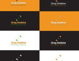 #66 para Logo Design for Greg Deakins - Photographer por Sanjoydas7