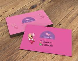 #26 untuk Cartão de Visitas para Loja de Laços para meninas oleh Tusher6