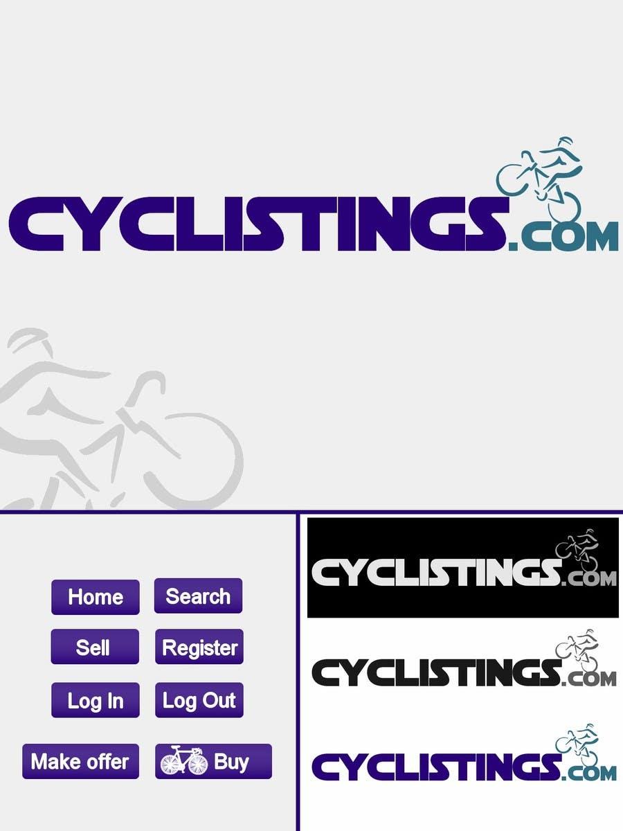 Penyertaan Peraduan #26 untuk Logo Design for cyclistings.com