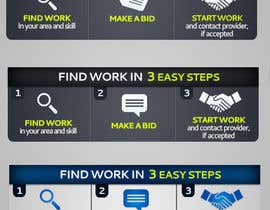 #64 para Static Banner Design for Freelancer type website por passion2excel