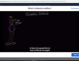 #59 for I'm looking for someone that do search online and find a video course about diabete . by ACJABANES