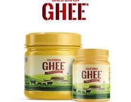 #4 para Design me a Ghee bottle label por minimalwork