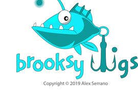 #30 cho Fishing Logo Brooksy Jigs bởi gwk2001