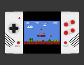 #58 for Product ID Design-handheld retro video game console with power bank( portable charger) function by ahmadnazree