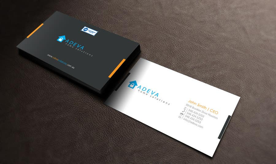 Entry #31 by toyz86 for Design Business Cards for Adeva Home ...