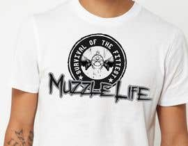 nasirali339 tarafından T-shirt Design for Muzzle Life - Featuring two Buck Deer's in Battle! için no 14