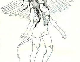 #6 untuk Draft Sketch of Fictional Characters - Anime or Fantasy - Original Work Only! oleh doquigi