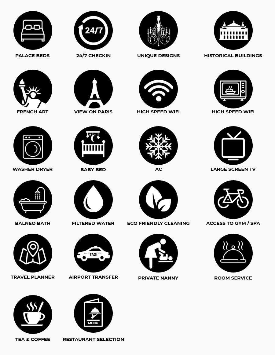 Konkurrenceindlæg #9 for Design of 20 icons