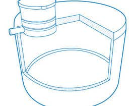 #13 for Simple Line Drawing Required. af jdstitch00