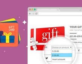 Nro 27 kilpailuun bull;d me a gift card website käyttäjältä Arakibsarkar668