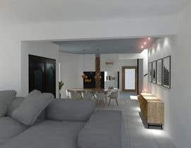 #6 untuk Ground floor interior design oleh eliasflopez2019