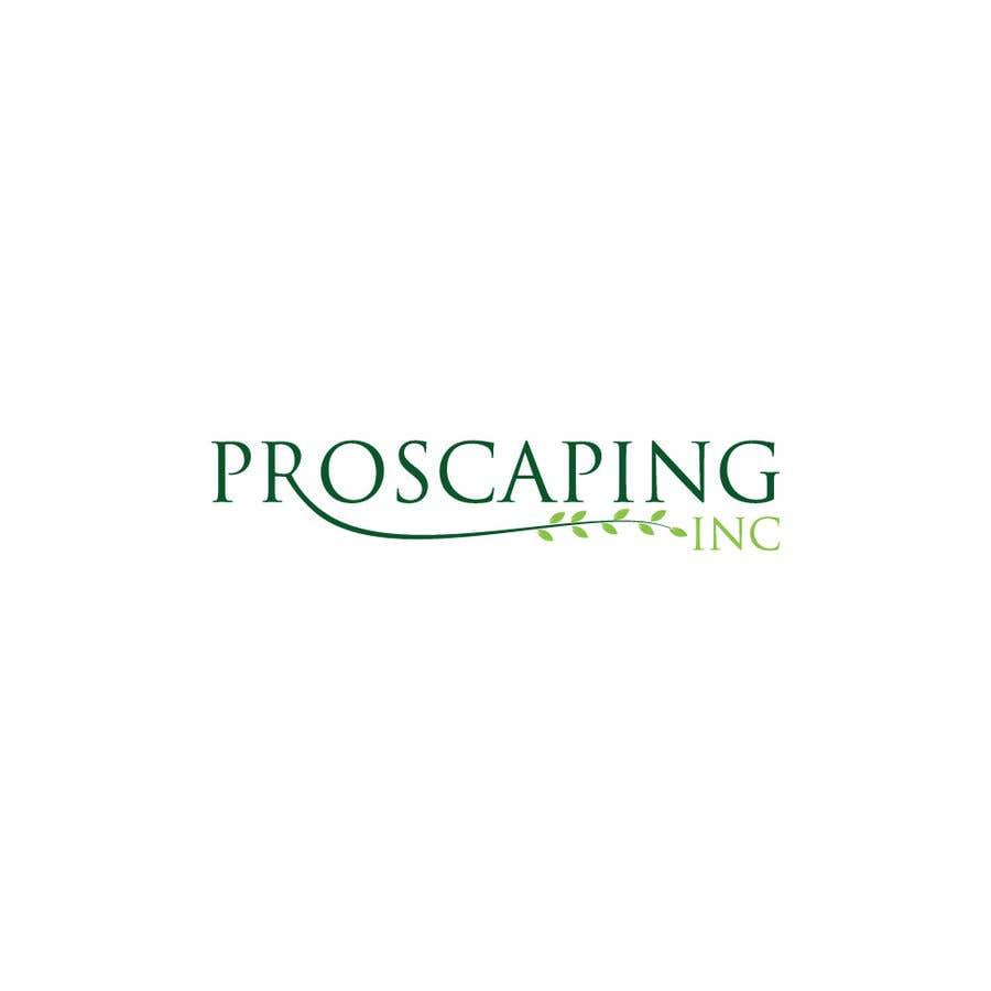 Penyertaan Peraduan #176 untuk Create a Logo for ProScaping Inc.