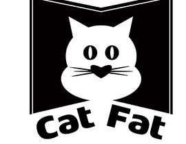 #88 untuk CatFat.com Logo oleh mozibar1916