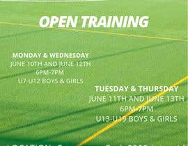 #20 для Need flyer created for open training от NURHAMIZA