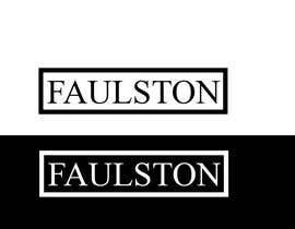 #33 for Logo Design for FAULSTON af alamin216443