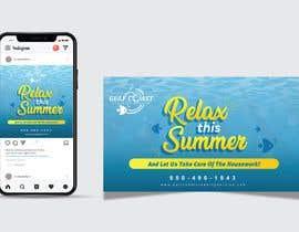 nº 14 pour Summer graphic design advertisement par Nathasia00