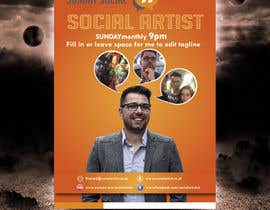 #22 untuk Design a Flyer for Social Artist Events oleh tahira11