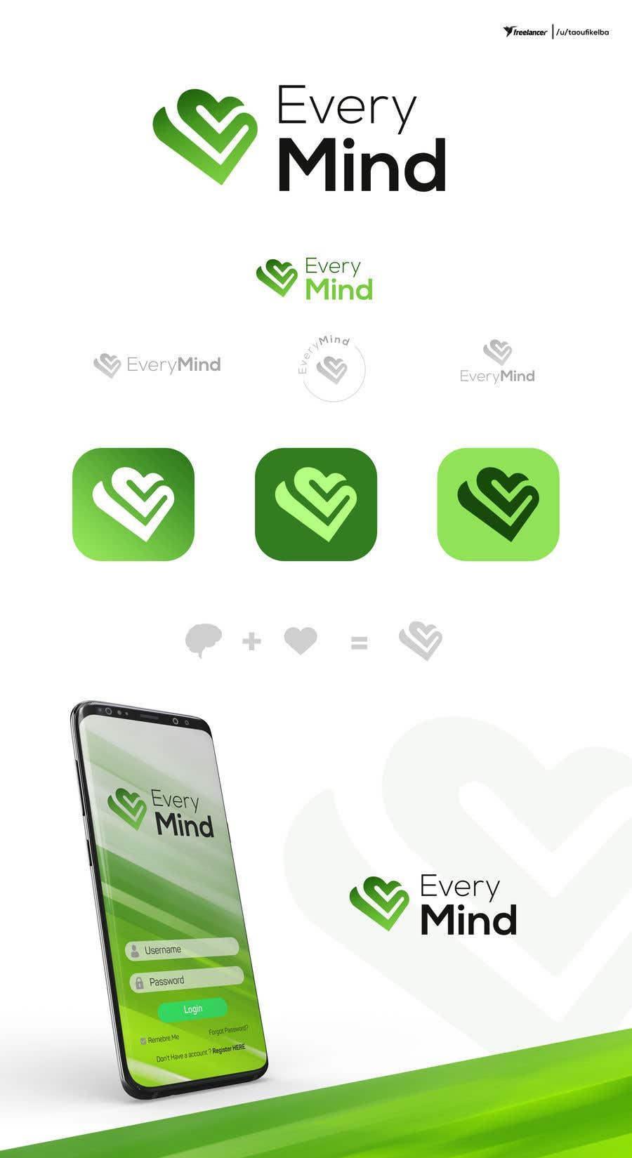 Penyertaan Peraduan #12 untuk Logo design for wellbeing app