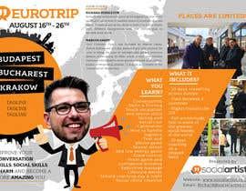 #13 untuk Design a Flyer for Social Artist Travel Events oleh mirandalengo