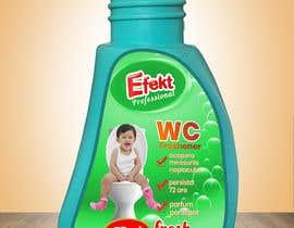 #8 cho WC Freshener with baby on toilet - label design bởi Humayun963