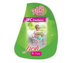 #6 cho WC Freshener with baby on toilet - label design bởi saminaakter20209