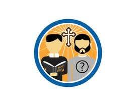 #1 untuk logo with bible and 2 people oleh FerPoloni