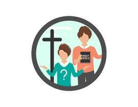 #9 untuk logo with bible and 2 people oleh cseskyz8