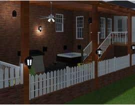 #13 untuk Backyard patio design oleh TMKennedy