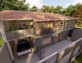 #5 untuk Backyard patio design oleh amosostos