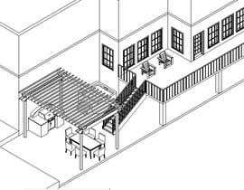 #11 untuk Backyard patio design oleh Douugie