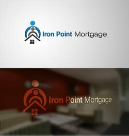 #188 cho Logo Design for Iron Point Mortgage bởi paxslg
