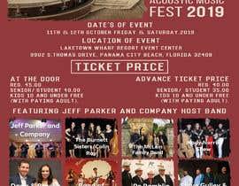 Nro 16 kilpailuun Need a concert flyer created käyttäjältä MOMODart