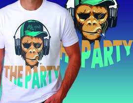 "#78 для T-shirt design ""The Party"" от royg7327"