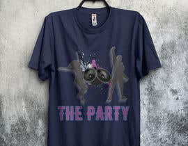 "graphicsword tarafından T-shirt design ""The Party"" için no 80"