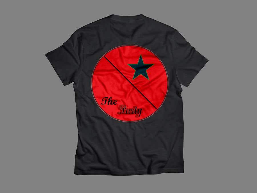 """Kilpailutyö #39 kilpailussa T-shirt design """"The Party"""""""