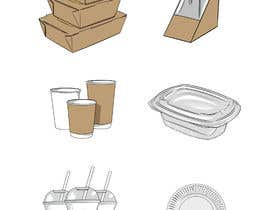 #20 for Design 12 cartoon digital illustration for website categories af ldburgos