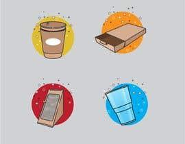 #24 for Design 12 cartoon digital illustration for website categories af ghielzact