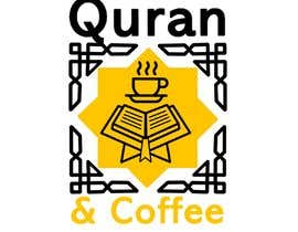 #14 untuk I need a logo for Quran & Coffee. It will be an event with coffee,I want latte art pics and barista stuff and coffeebeans and I want the spirituality religious aspect of the Quran included, be creative blending the coffee with concept of the Quran somehow oleh berragzakariae