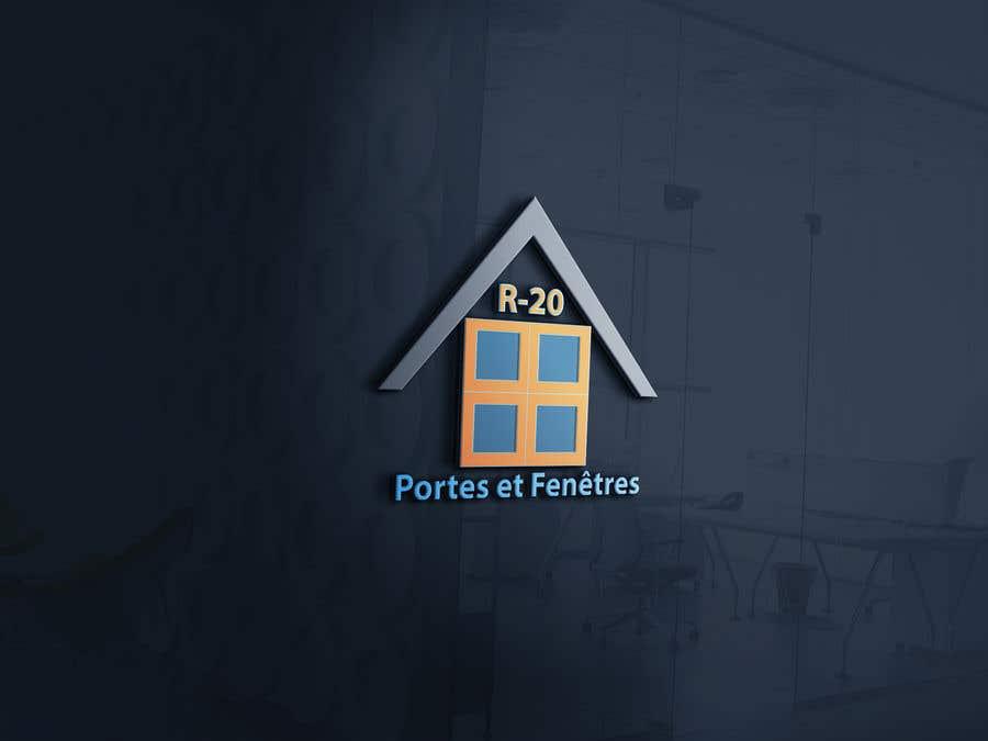 Penyertaan Peraduan #165 untuk Design a logo for a doors and windows company