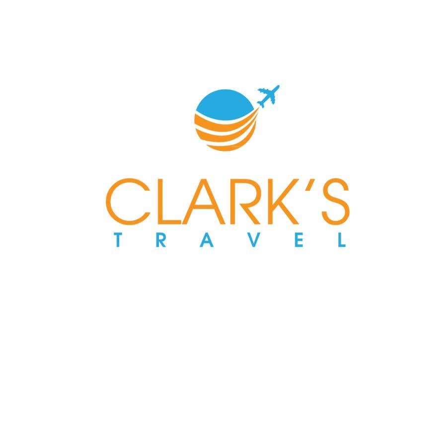 Penyertaan Peraduan #27 untuk Clark's Travel Logo